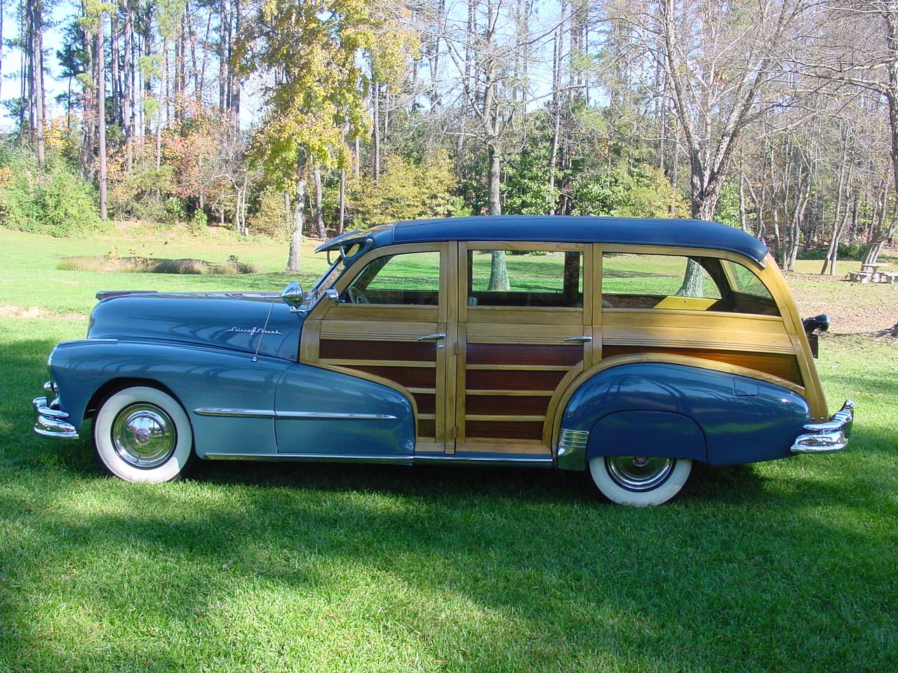 1948 Woody Wagon 1941 Pontiac Silver Streak