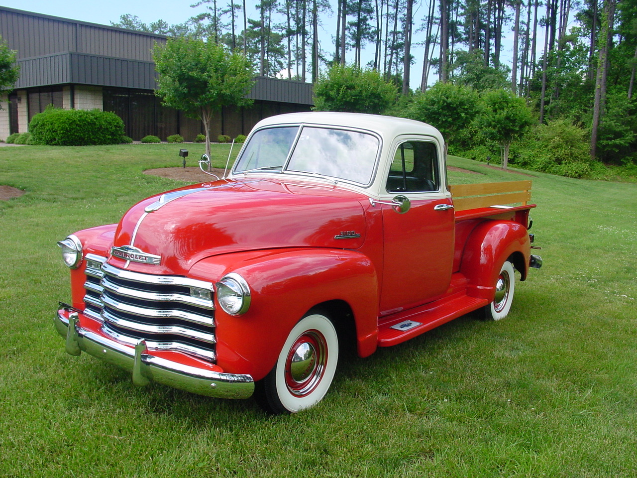 tuning cars and news 1950 chevrolet 3100 pickup. Black Bedroom Furniture Sets. Home Design Ideas
