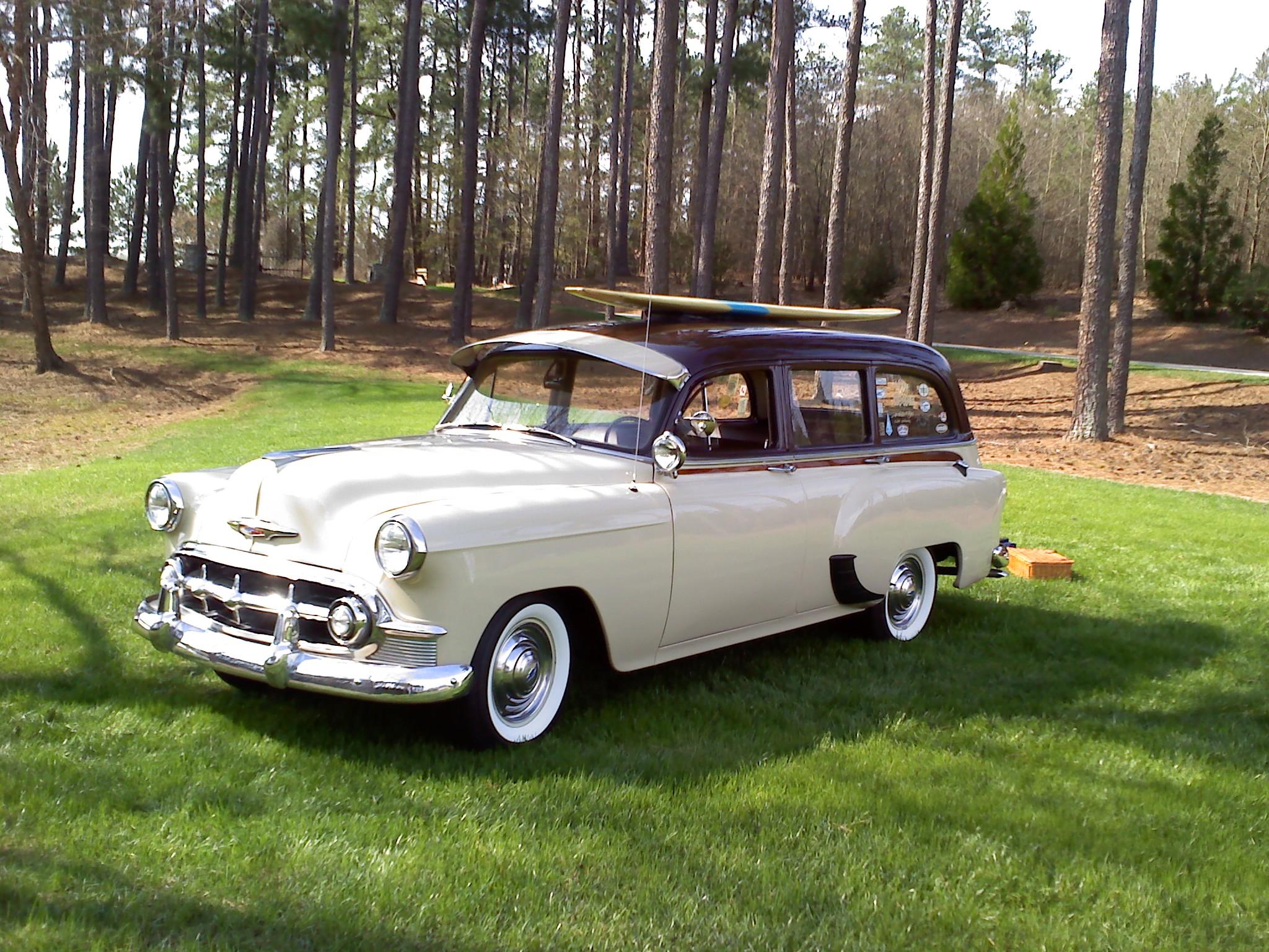 1953 Chevrolet Tin Woodie Wagon
